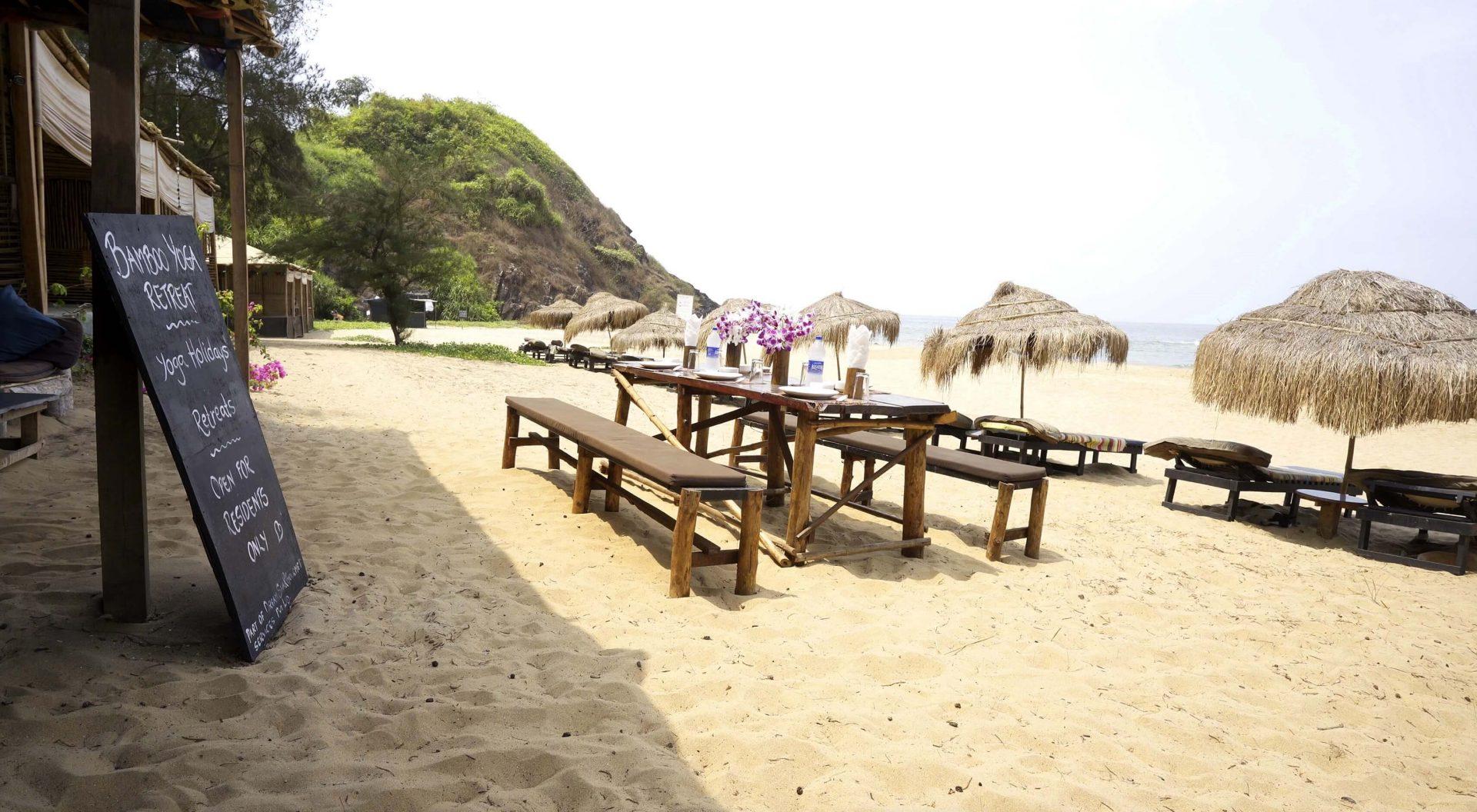 Bamboo Yoga Retreat in Patnem Beach Goa