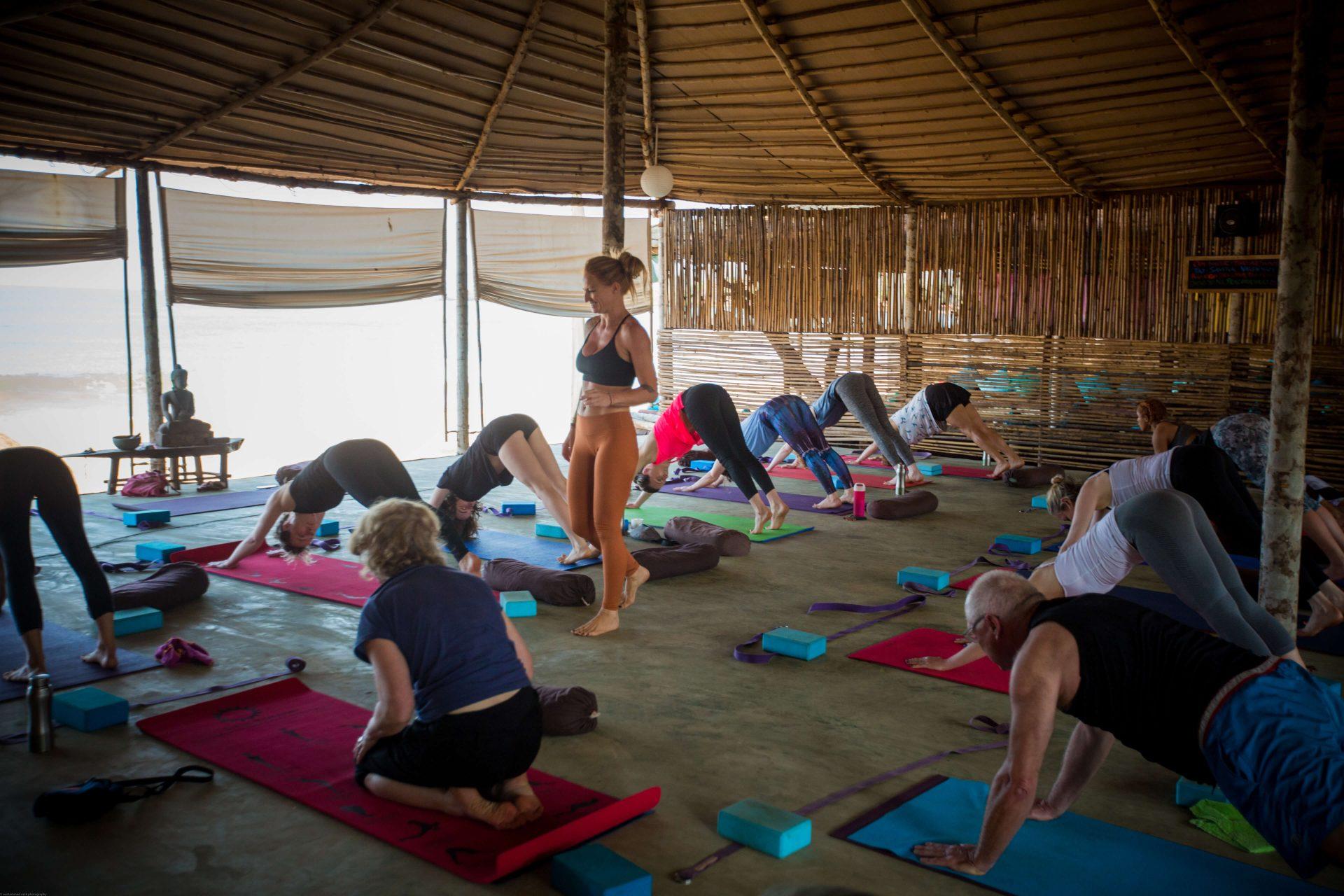 yoga-holidays-india-beach-yoga-class-3